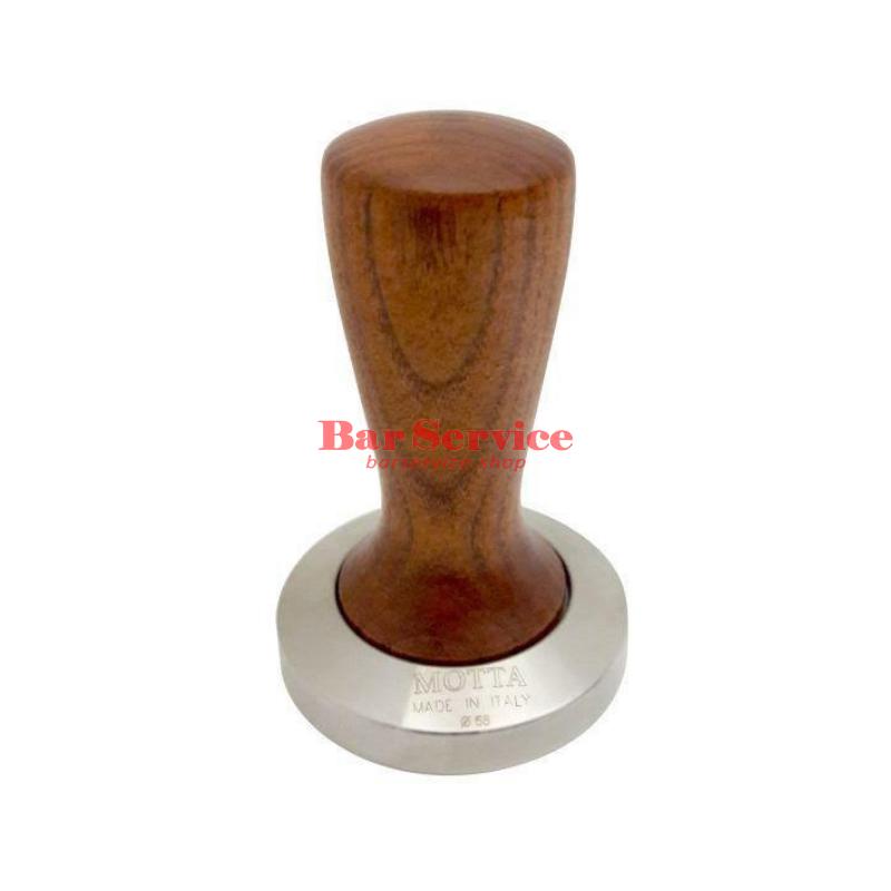Темпер Мотта SLIM 58 мм. (плоский) рукоятка из дерева в Иркутске