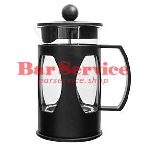 Чайник-кофейник Черный Объем: 600 мл. (френч пресс) в Иркутске