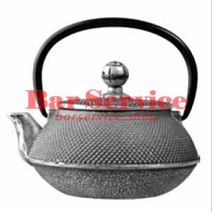 Чайник с ситечком; чугун; 650 мл; D=8.7,H=9.4,L=14.5; черный в Иркутске