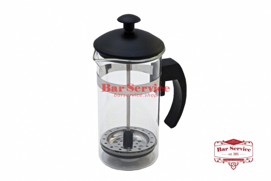 Чайник-кофейник Черный Объем: 350 мл. (френч пресс) в Иркутске